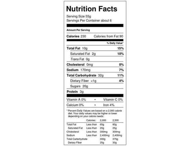 Abes Chocolate Chip Cookie Muffin, 4 count per pack -- 12 per case.