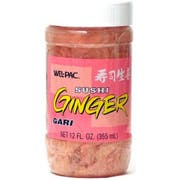 JFC International Gari Shoga - Pickled Ginger Garnished with Sushi, 11.5 Ounce -- 12 per case.