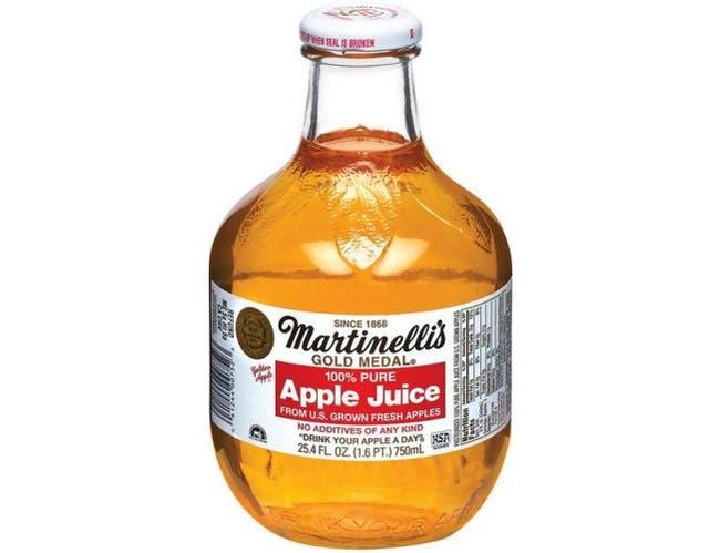 Martinellis Apple Juice - 25.4 Oz Pack -- 12 Case