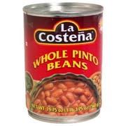 La Costena Whole Pinto Beans, 19.75 Ounce -- 12 per case.