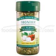 Frontier Herb Saltless All Purpose Seasoning Blend, 1.28 Ounce -- 6 per case