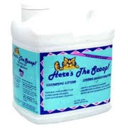 Heres The Scoop Clumping Cat Litter, 10 Pound -- 3 per case.