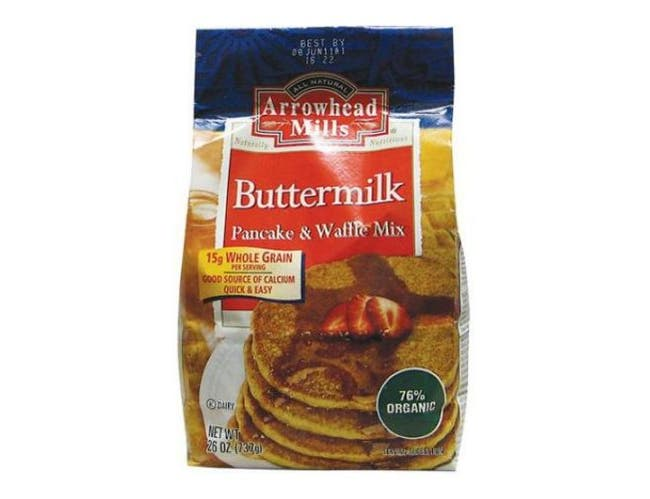 Arrowhead Mills Buttermilk Pancake and Waffle Mix, 26 Ounce -- 6 per case.