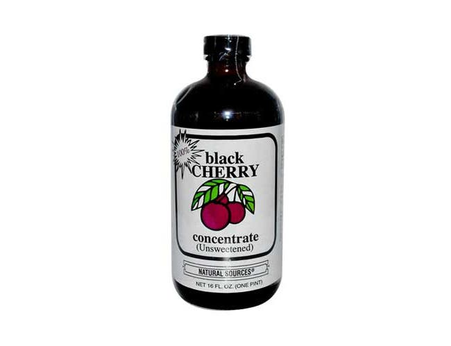 Natural Sources Black Cherry Concentrate, 16 Ounce -- 3 per case.