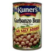 Kuners Garbanzo Beans, 15 Ounce -- 12 per case.