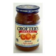 Crofters Organic Apricot Fruit Spread, 10 Ounce -- 6 per case.