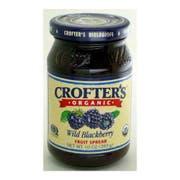 Crofters Organic Wild Blackberry Fruit Spread, 10 Ounce -- 6 per case.