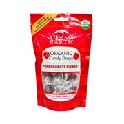 Yummy Earth Organic Pomegranate Pucker Candy Drop, 3.3 Ounce -- 6 per case.