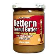 Better N Peanut Butter Original Spread, 16 Ounce -- 6 per case.