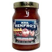 Mrs.RenfroF Ghost Pepper Salsa, 16 Ounce -- 6 per case.