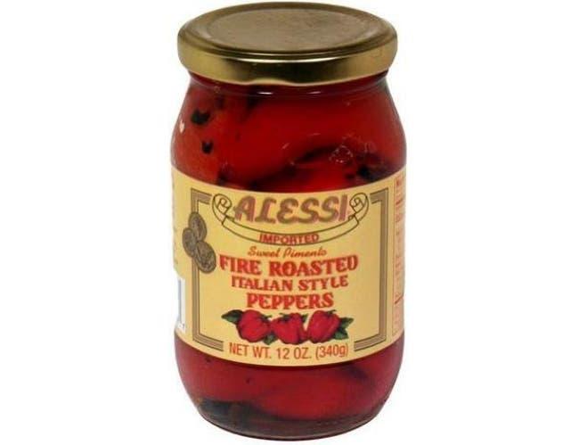 Alessi Fire Roasted Pepper, 12 Ounce -- 12 per case.