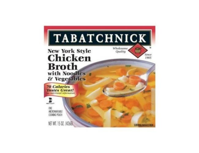 Tabatchnick New York Style Chicken Broth with Noodles and Vegetables, 15 Ounce -- 12 per case.