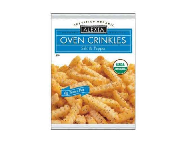 Alexia Foods Organic Salt and Pepper Oven Crinkles Fry, 16 Ounce -- 12 per case.