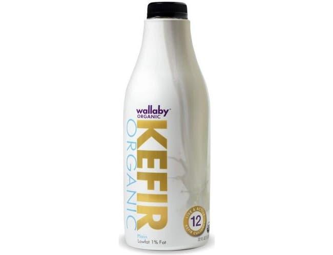 Wallaby Yogurt Company Organic Plain Lowfat Kefir, 32 Fluid Ounce -- 6 per case.