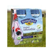 Stonyfield Farm Organic Strawberry Super Smoothie, 24 Fluid Ounce -- 6 per case