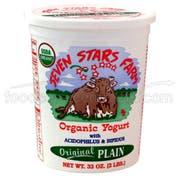 Seven Stars Farm Organic Plain Yogurt, 32 Ounce -- 6 per case.