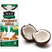 So Delicious Unsweetened Coconut Milk, 0.5 Gallon -- 6 per case