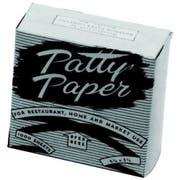 Johnson Rose Hamburger Patty Paper, 5 1/4 x 5 1/4 Inch -- 1000 per case.