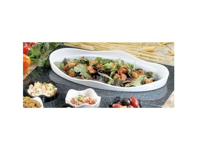 Black Granite Bon Chef Melamine Euro Tile for One 53201, 53202 or 53203 Bowl, 20 13/16 x 12 3/4 inch -- 1 each.