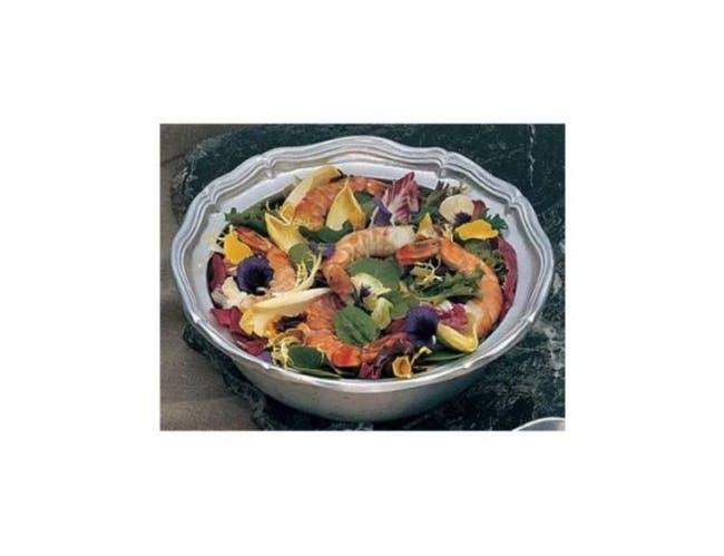 Bon Chef Queen Anne Salad Bowl, 10 1/2 x 3 1/4 inch -- 3 per case.