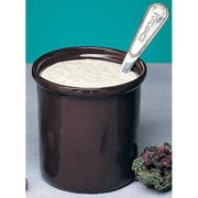 Bon Chef Rimmed Salad Dressing Container, 6 1/4 x 6 3/4 inch -- 2 per case.