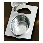 Bon Chef Stainless Steel Full Size Tile with Two Cutout for Number 2284 and 5202 Pan, 13 1/8 x 21 1/2 inch -- 1 each.