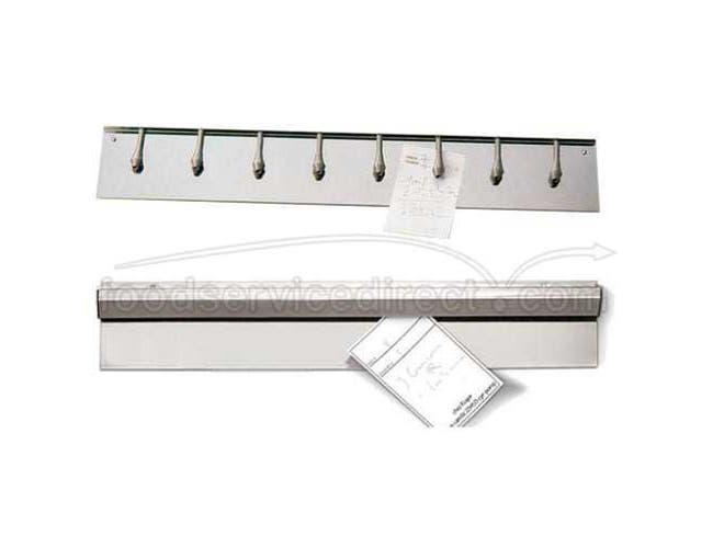 World Cuisine Paderno Stainless Steel Order Holder, 39 3/8 inch Length -- 1 each.