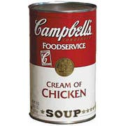 Campbells Cream of Chicken Soup - 50 oz. can, 12 per case