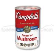 Campbells Healthy Request Condensed Cream of Mushroom Soup - 10.75 oz. can, 48 per case