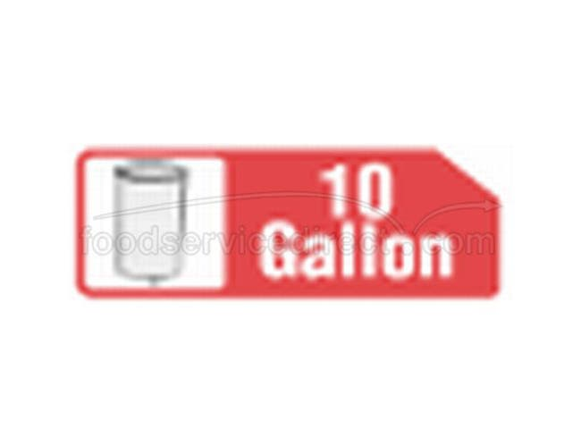 10 Gallon Buff Wastebasket Liner -- 1000 Count