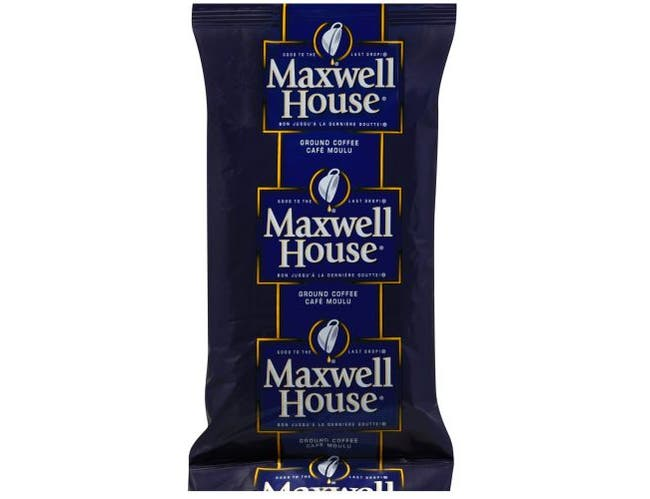 Maxwell House Ground Coffee - 14 oz. urn pack, 28 packs per case