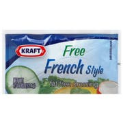 Dressing Kraft French Fat Free Pouch 200 Case 0.44 Ounce Each