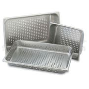 Perforated Pans,Full Size, 22 Gauge, Stainless Steel -- 1 Each.