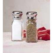 Salt & Pepper Mushroom Top Shkr -- 12 Count