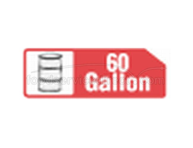 38X60 60 Gallon Extra Heavy High Density Black Liner -- 150 Count