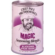 Chef Paul Prudhommes Blackened Steak Magic - 20 oz. can, 4 cans per case
