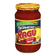 Ragu With Meat Spaghetti Sauce, 14 Ounce -- 12 Case