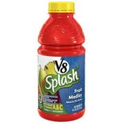 V8 Splash Fruit Beverage, 16 Fluid Ounce -- 12 per case.