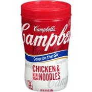 Campbells Soup at Hand  Chicken Soup with Mini Noodles - 10.75 oz. microwavable cup, 8 per case