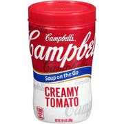 Campbells Soup at Hand Creamy Tomato Soup - 10.75 oz. cup, 8 per case