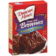 Duncan Hines Chewy Fudge Family Size Brownie Mix , 18.3 Ounce -- 12 Case