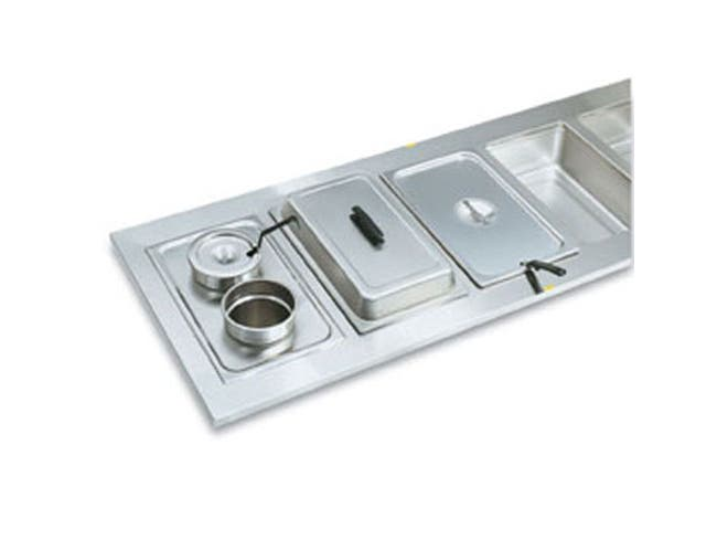 Adaptor Plates - Stainless - Two Opening 8 3/8 Inch -- 1 Each.