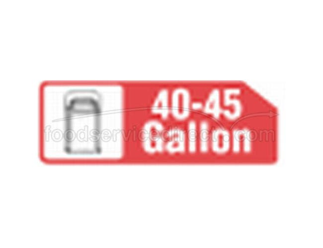 40X48 45 Gallon Extra Heavy Black Liner -- 250 Count