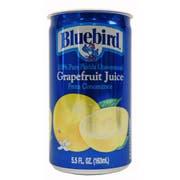 Bluebird Unsweetened Grapefruit Juice, 5.5 ounce -- 48 per case