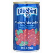 BlueBird Cranberry Cocktail, 5.5 ounce -- 48 per case