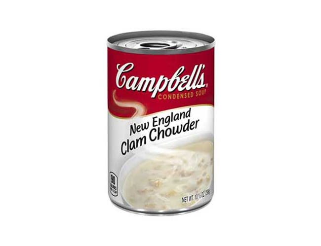 CHUNKY New England Clam Chowder - 10.75 oz. can, 12 per case