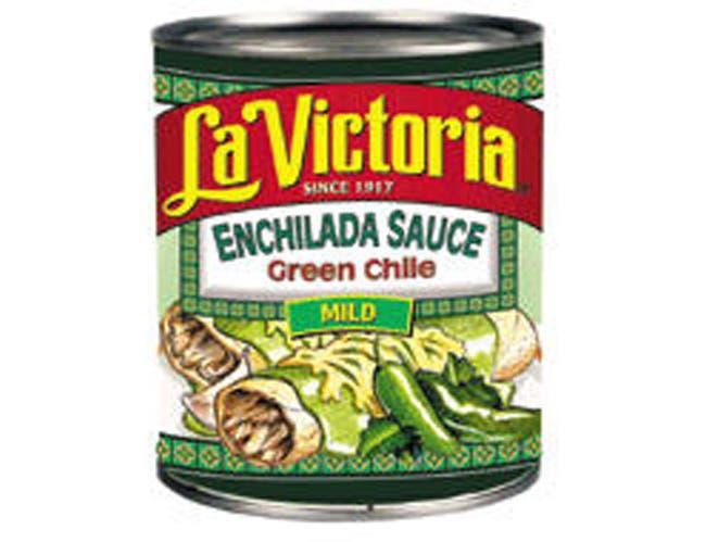 La Victoria Green Chile Enchilada, Retail, 19 Ounce -- 12 Case