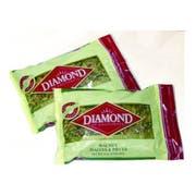 Diamond Walnut Halve and Pieces, 2 Pound Visibility Bag -- 12 per case.