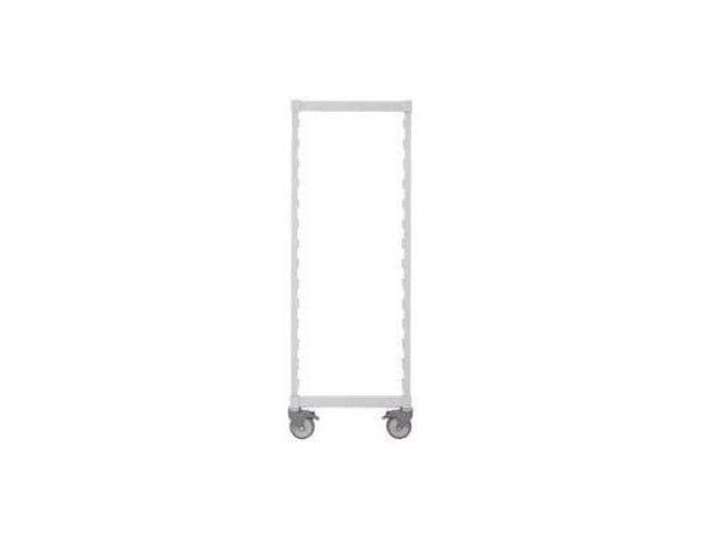 Speckled Gray Cambro Mobile Post Kit - Include Two Posts For Mobile Camshelving And One Set Of Post Connectors, Casters Not Included 24 X 75 Inch -- 1 Kit Each.