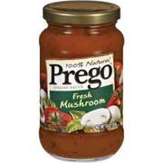 Prego Fresh Mushroom Pasta Sauce, 14 Ounce -- 12 Per Case.